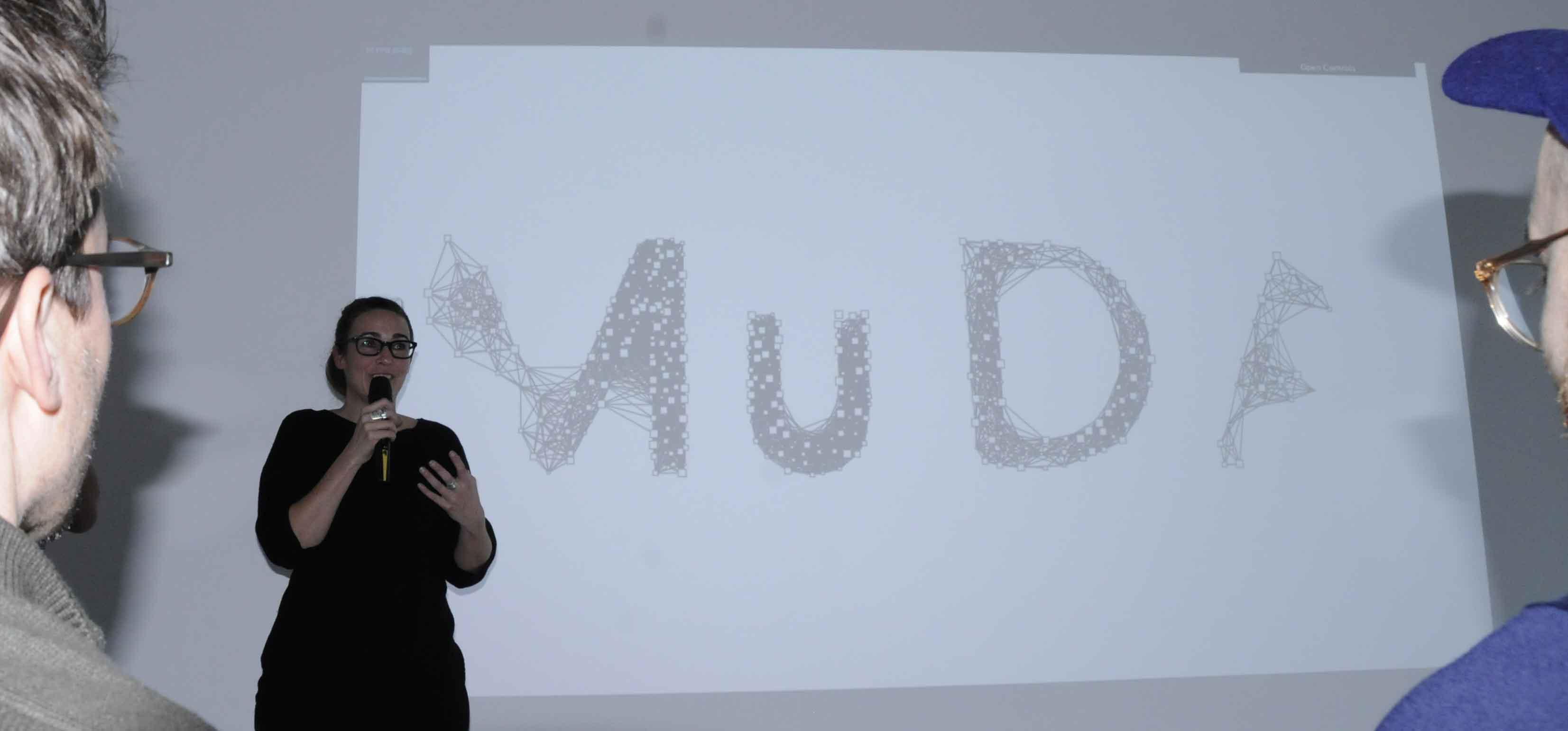 MuDA co-founder Caroline Hirt