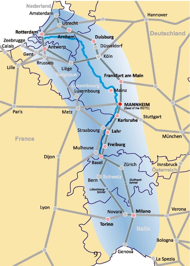 Rhine-Alpine Corridor_presentation Jörg Saalbach
