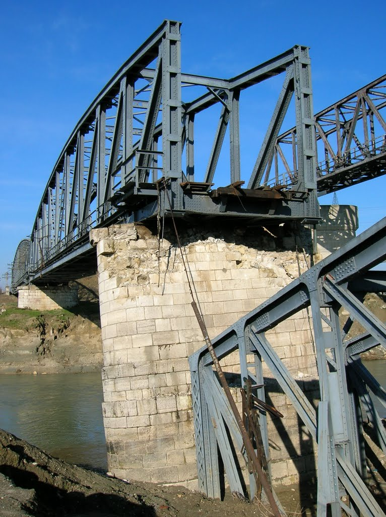 Bridges over the Argeş near Grădiştea2